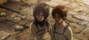 Armin, Eren dan Mikasa