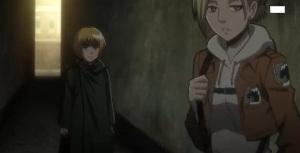 Armin memujuk Annie