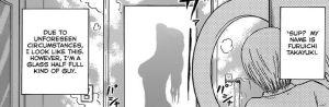 Furuichi yang gatal tu cuba mengendap Nene mandi