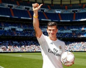 Gareth Bale di Real Madrid - Pemain Termahal di dunia