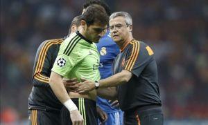 Iker Casillas cedera lagi - kali ini dicederakan oleh Sergio Ramos