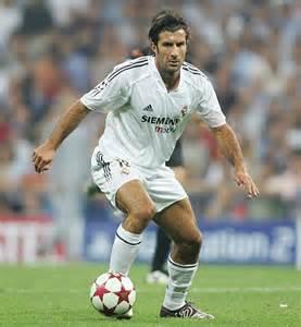 Luis Figo mempunyai teknik yang jauh lebih hebat daripada Cristiano Ronaldo dan Gareth Bale