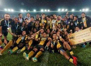 malaysia memenangi Pestabola Merdeka 2013