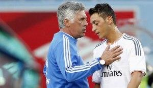 Mesut-Ozil tidak diutamakan Ancelotti