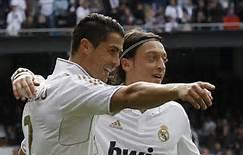 Ozil dan Cristiano Ronaldo