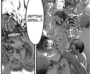 Kyojin dimakan kyojin yang lain