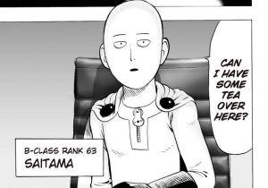 Saitama meminta teh dalam mesyuarat