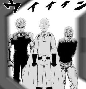 SIlver Fang, Genos, dan Saitama