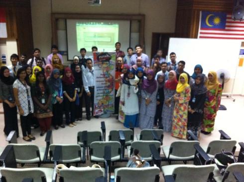 Bersama Pensyarah & Pelajar Fakulti Pelancongan & Hospitaliti di Politeknik Merlimau